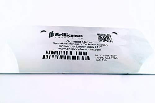 Laser Marking Powder-''Brilliance Laser Inks'' -BLI101MBPWD500 Grams- Black Laser Ink Powder for Metals Marking with CO2/Fiber/YAG (500 Grams) by Brilliance Laser Inks (Image #5)