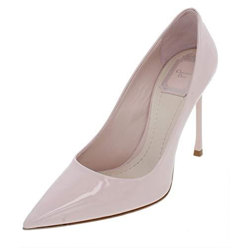 Dior Christian Womens Essence Patent Leather Stilettos Pink 36.5 Medium (B,M) ()