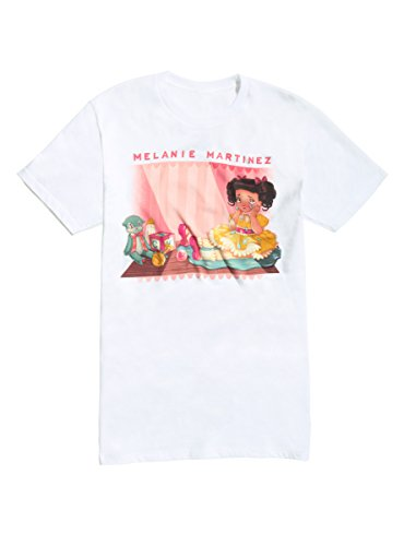 Girl White Baby Doll T-shirt - 6