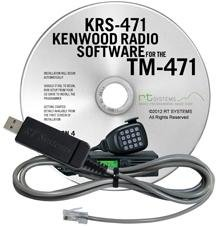 RT Systems KRS-471 Programming Software and USB-K5D Cable for The Kenwood TM-471