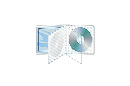 2 Disc MultiViewpak CD/DVD with Safety-Sleeve – Box of 240 (Disc Cd 240)