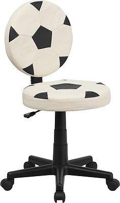 Silla de oficina con diseño de balón de fútbol, silla de oficina ...