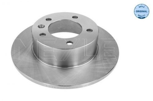 Meyle Brake Disc Rear Axle: