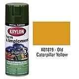 Krylon 1819 12 Oz Old Equipment Yellow Farm & Implement Spray Paint, 6 Pack