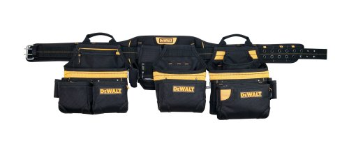 DEWALT DG5650 31-Pocket Professional Carpenter's Pro-combo Apron Tool Belt