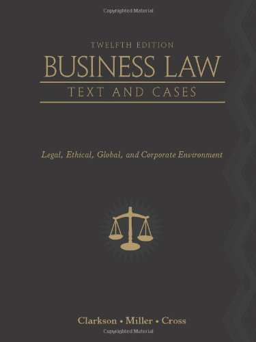 Business Law:Text+Cases