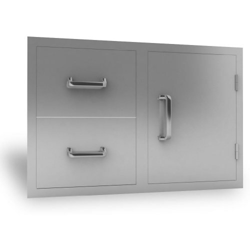 RSC Door and Double Drawer Combo