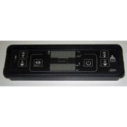 Micronova Teclado Pantalla LED c025 para Estufas: Arce, biasi, Cadel, Deville,