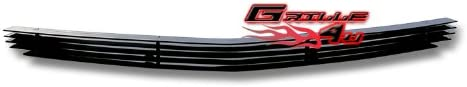 APS Compatible with 05-10 Dodge Charger Lower Bumper Black Billet Grille Insert N19-H93466D