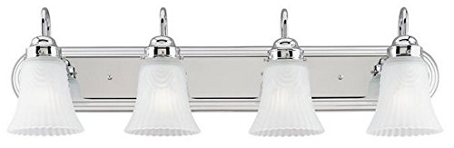 Westinghouse 6652300 4 Light Bracket Bathroom Light Fixture - Bracket Bathroom Light