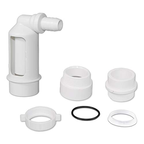 (Water Filter/Softener Air Gap with 1/2-inch Barb Connector for Installation on a 1-1/2-inch Standpipe with PVC Trap Adapters.)