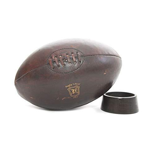Marquel - Balón de Piel de Rugby Vintage: Amazon.es: Deportes y ...