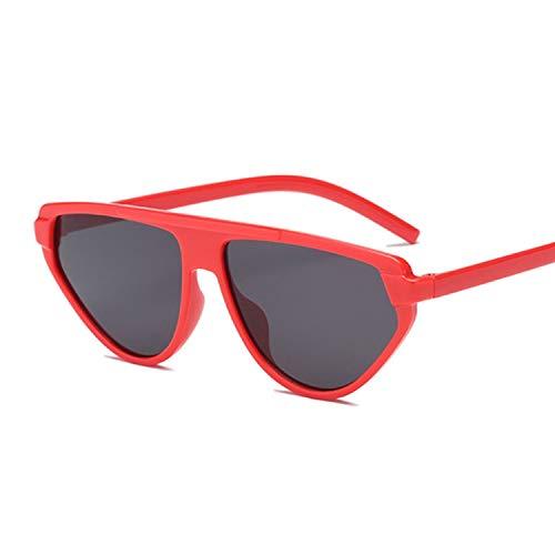 - Cute Sexy Retro Cat Eye Sunglasses Women Small Black White Sun Glasses Female Retro Uv400,Redgray