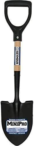 Seymour SV-DRMP 6-Inch by 8-Inch MiniPro Floral Round Point Shovel with Hardwood Handle