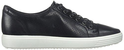 Ecco Vrouwen Zacht 7 Das Fashion Sneaker Donkere Zwarte
