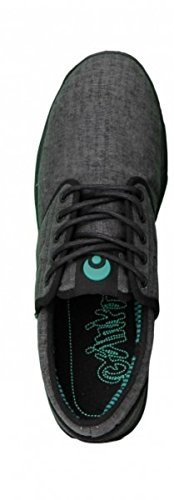 Osiris Skateboard Schuhe -- E. U. -- Black/Teal/Stripers