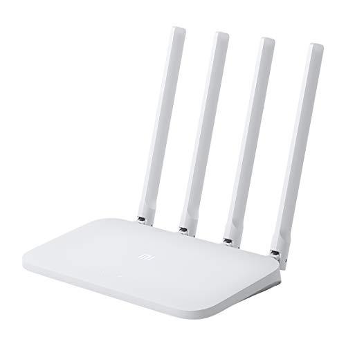 Nuevo Routers Xiaomi WiFi de 4 antenas 300Mbps 2.4 GHz / Original Xiaomi Mi WiFi Router 4C Smart APP Control 300Mbps 2.4GHz...