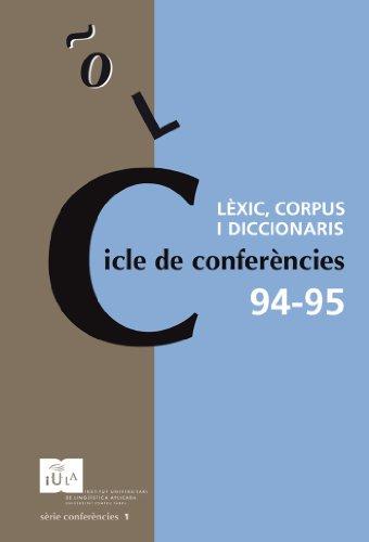 Cicle de conferències 94-95 (IULA (UPF))