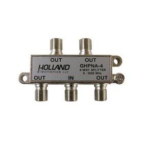 Holland 4 Way Broadband Splitter for IPTV & U-Verse HomePNA