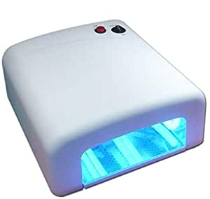 Pure White Color Nail Dryer 36w Uv Art Lamp Light Gel Curing Polish