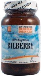 L A NATURALS Bilberry Raw Herb 60 Vgc, 0.02 Pound