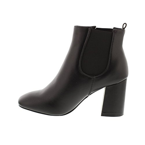 Glamorösa Fw2600 Chelsea Häl Stövlar - Black (konstgjorda) Womens Boots