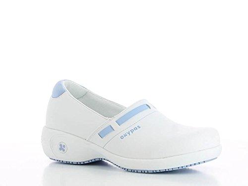 Et Cuir Professionnel Blanc En Bleu Oxypas Src Lucia Escarpin c1qwvO