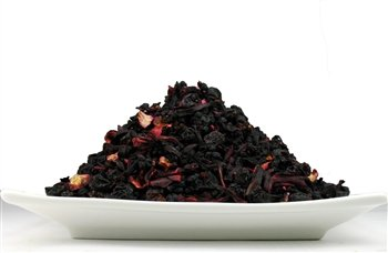 d Tea, Fully flavoured natural loose leaf tea with deep berry notes– 4 Oz Bag (Hill Fruit)