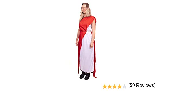 Dressed - Disfraz de romana para mujer: Amazon.es: Juguetes y juegos