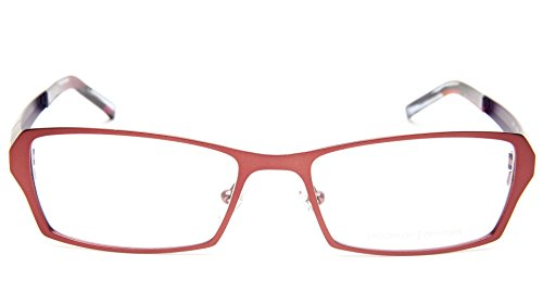 NEW PRODESIGN DENMARK 4131 c.4031 RED EYEGLASSES FRAME 53-17-140 B31mm Japan