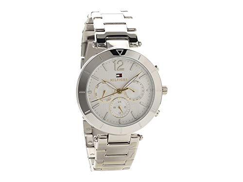 Tommy Hilfiger Reloj Multiesfera para Mujer de Cuarzo con Correa en Acero Inoxidable 1781877: Amazon.es: Relojes