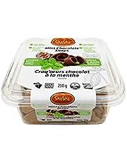 ShaSha Mint Chocolate Snap Cookies, 250 Gram