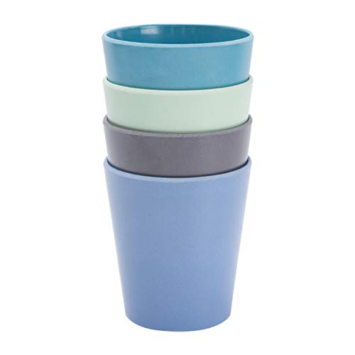 4pcs Bamboo Kids Cups