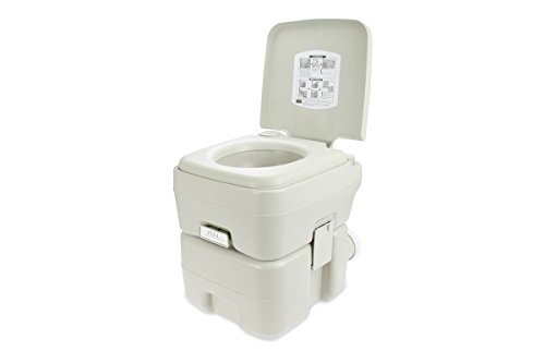 SereneLife Outdoor Portable Toilet SLCATL120 Manual Flush