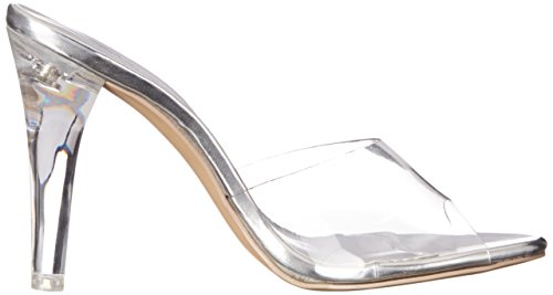 Mujer Transparent Pleaser Transparente Lucite Clearly 401 Sandalias Clr zwqqt4UB