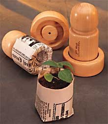 Eco Friendly Plant Pot Maker