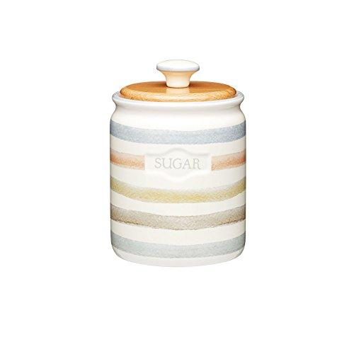 Striped Ceramic (KitchenCraft Classic Collection Striped Ceramic Sugar Caddy)