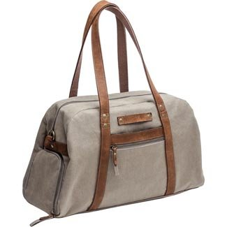 Kelly Moore Bag Explorer Canvas & Leather Shoulder Bag by Kelly Moore