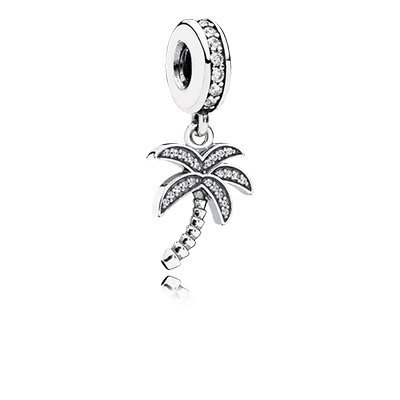 Pandora Charm Pendant Sparkling Palm Tree 791540Cz