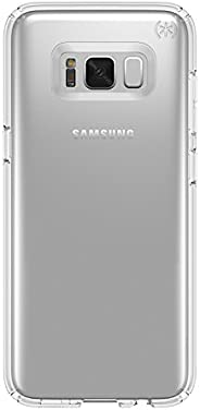 Speck Products Presidio Clear Cell Phone Case for Samsung Galaxy S8 Plus ONLY - Clear/Clear