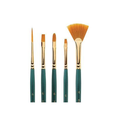 Handle Brush Regency - Regency Gold Deer Foot Stippler Decorative Painting Brush Size: 1/4