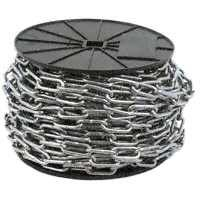 Campbell 0723627 2/0 X 125' Straight Link Coil Chain (Passing Link)