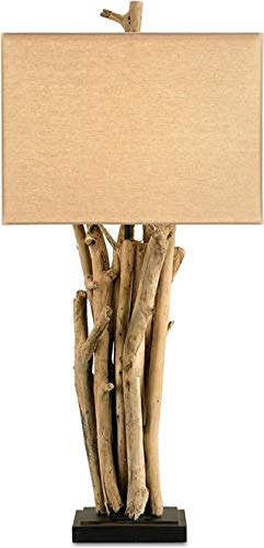 Currey & Company Table Lamp Driftwood Nature Inspired Natural ()