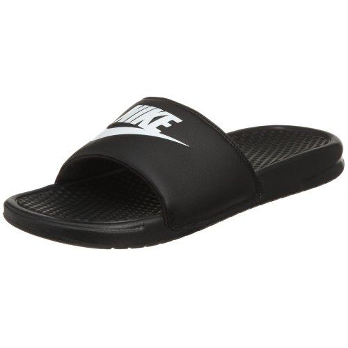 ust Do It Athletic Sandal, White Black, 7 D US ()