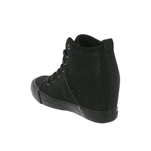 Jilly Guess Black Mujer Zapatillas para Black Altas Negro 4zzqfZSBw