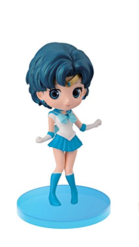 Banpresto Sailor Moon 2.8-Inch Sailor Mercury Figure, Q Posket Petit Volume 1