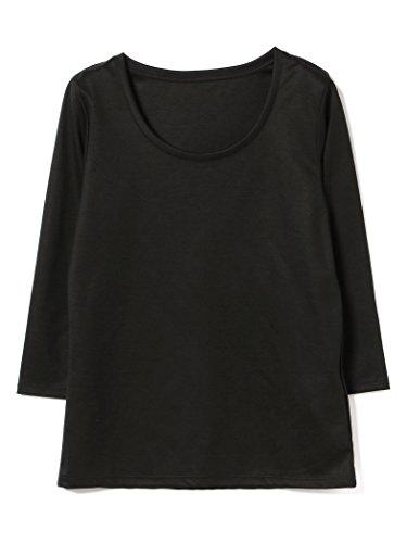 (デミルクスビームス) Demi-Luxe BEAMS Tシャツ カットソー テンセル ベーシック 7分袖シャツ レディース