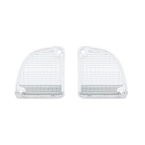 Trucks 1972 Chevy 1967 (United Pacific 1967-1972 Chevy Gmc Truck Backup Light Lenses, Pair)