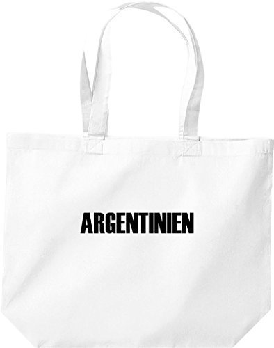 Football White Argentina Große Shopping Countries Land Bag wq6A7OWg