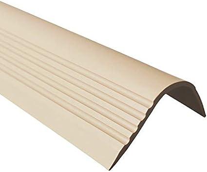 52 x 40 RGPT Profil/é pour nez de marche en PVC et caoutchouc auto-adh/ésif